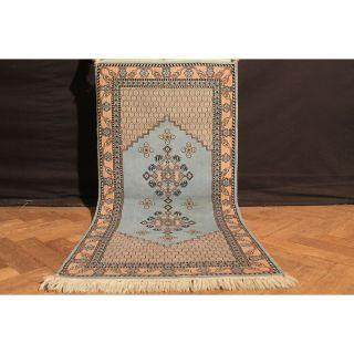 Wunderschön Handgeknüpfter Orient Teppich Atlas Berber Old Rug Carpet 145x70cm Bild