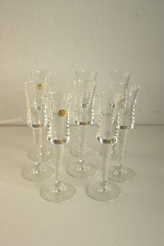 8 X Schott Zwiesel Likörglas Sherryglas Ca 17,  5 Cm Bild