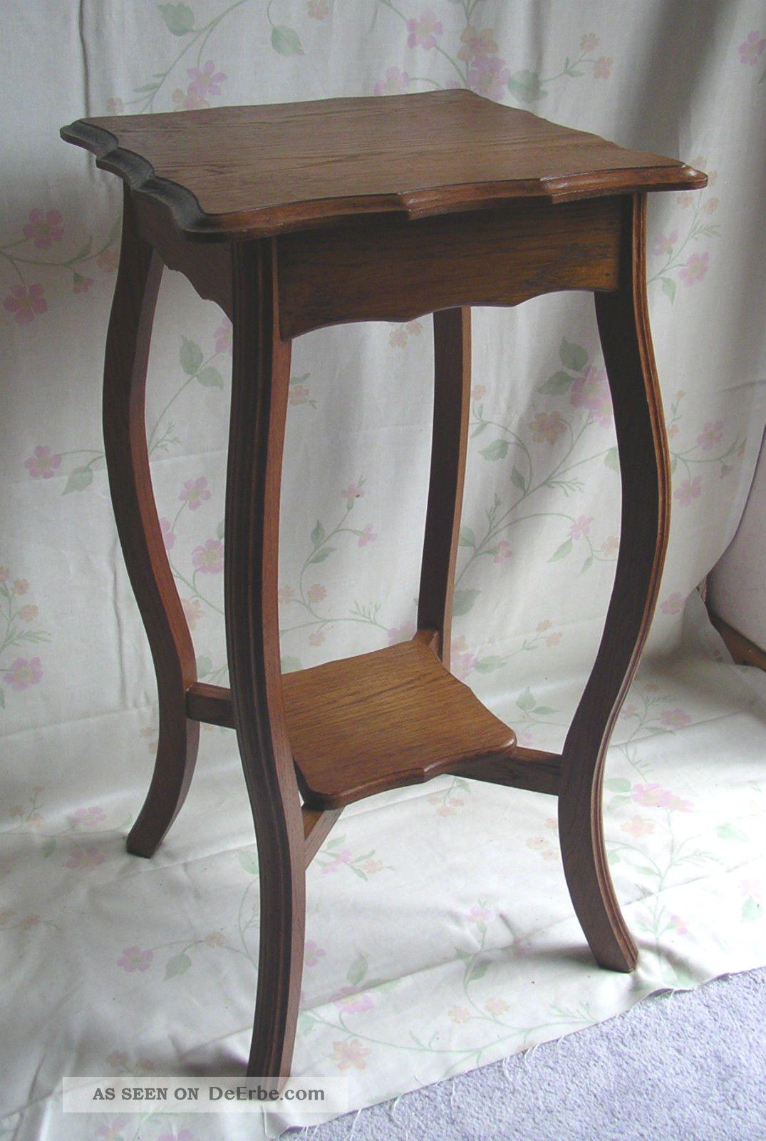Frankreich Jugendstil Tisch Beistelltisch Edelholz Shabby Chic Antike Originale vor 1945 Bild