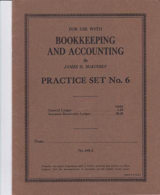 RaritÄt:amerikan.  Buchhaltungs - Und Kontoführungsbuch: ' Bookkeeping&accounting ' No6 Bild