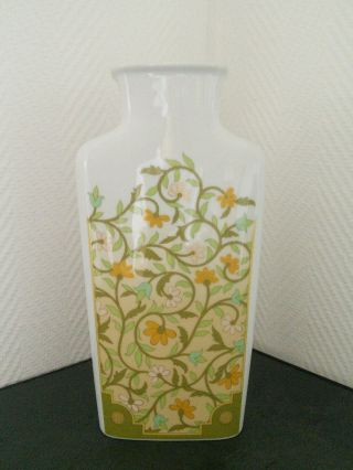 Rosenthal Vase Mit Floralem Dekor Bild
