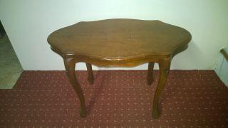 Tisch Tischchen Beistelltisch Rokoko Stil Nicht Antik Kleinmöbel Bild
