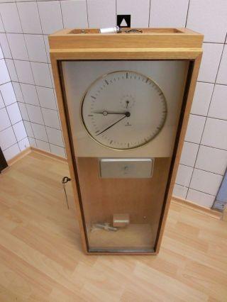 Siemens Mutteruhr Lochstreifenantrieb Hauptuhr Wanduhr Uhr Deutschland Bild