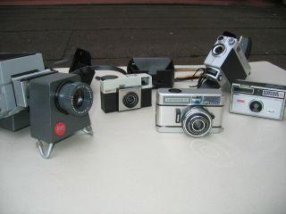 Konvolut Diaprojektor Leitz Pradix 3x Kodak Kamera 1x Dacora Kamera Bild