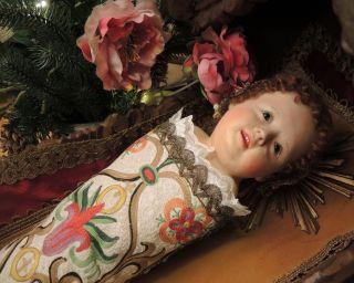Fatschenkind,  Augustiner Kindl,  Wachskopf,  Jesuskind,  Bambino Gesu, Bild