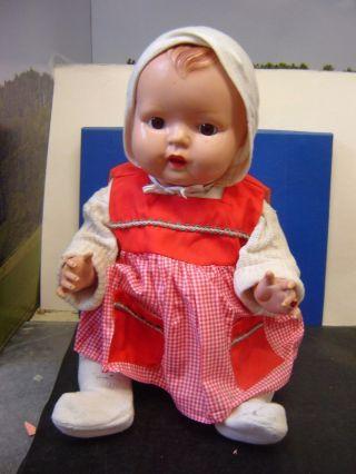 Puppe Von Minerva Celluloidkopf 11 Körper 52/53 50cm Groß  (085w) Bild