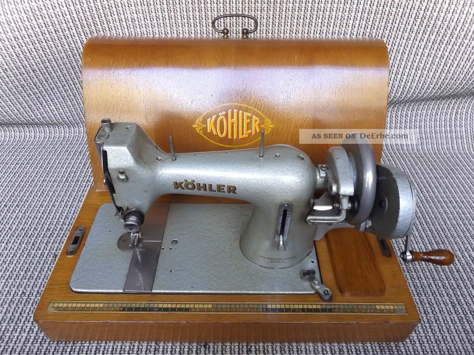 Antike Nähmaschine | Köhler | Altenburg | 1950 | Antique | Gratis (d) Haushalt Bild