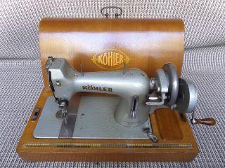 Antike Nähmaschine | Köhler | Altenburg | 1950 | Antique | Gratis (d) Bild