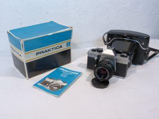 Ddr Kamera Praktica Mtl 50 Neuwertig Mit Ovp & Belege Von 1987 Bild