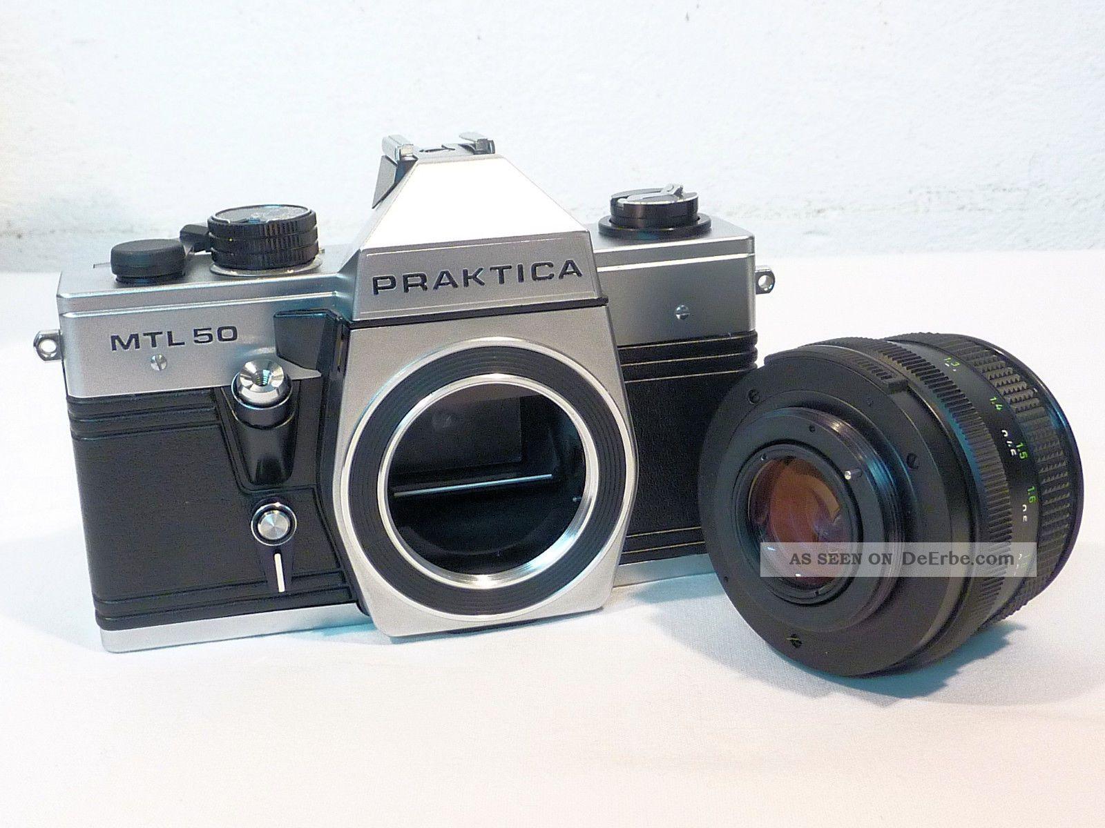 Ddr kamera praktica mtl 50 neuwertig mit ovp & belege von 1987