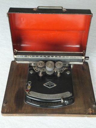 Antike Schreibmaschine Gundka 5 Aus Den Zwanziger Jahren Bild