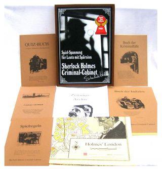 Sherlock Holmes Criminal - Cabinet,  Spiel Des Jahres 1985 Top Rarität,  Sehr Guter Bild