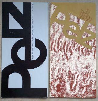 2 X Pelz - Prospekt 1974,  1975