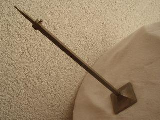 Antiker Origi.  Sehr Massiver Jugendstil - Hut - Ständer Aus Eisen Um 1900 Bild