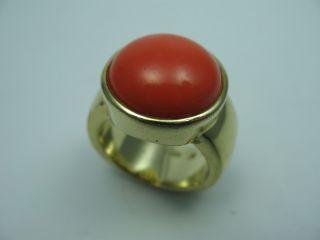 Prächtiger Großer Designer Ring Aus Vergoldetem 925 Sterling Silber Bild