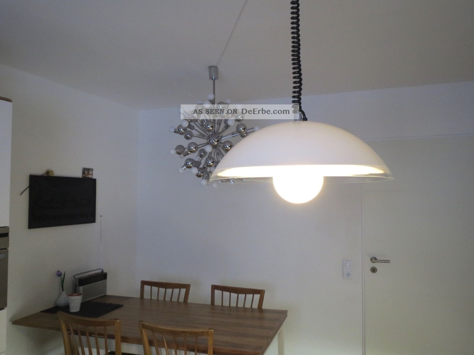 Iguzzini pendel lampe acryl made in italy design 70er panton - Lampe made in design ...