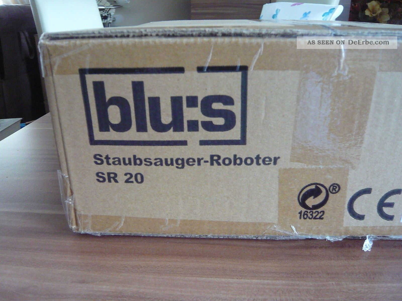blus staubsauger roboter sr20. Black Bedroom Furniture Sets. Home Design Ideas