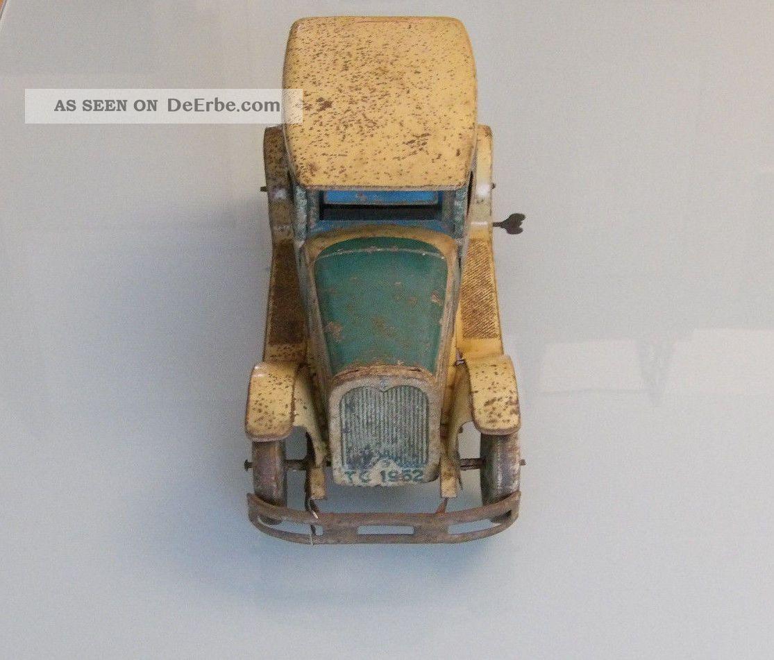 Blechspielzeug Tippco Große Reiselimousine Wohl 20er Jahre Länge 36 Cm Original, gefertigt vor 1945 Bild