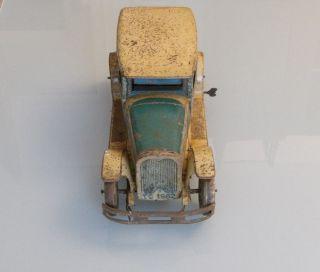 Blechspielzeug Tippco Große Reiselimousine Wohl 20er Jahre Länge 36 Cm Bild