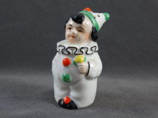 Alter Salzstreuer Figur Clown Pierot Bild