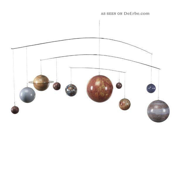 Authentic Models Planetenmobile Wissenschaftliche Instrumente Bild