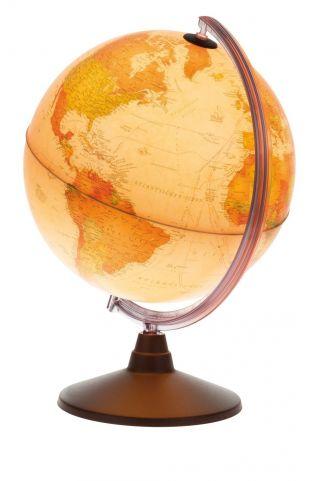 Tischglobus Weltkugel Beleuchtet Schülerglobus Lernglobus Antik Globus Ø 30 Cm Bild