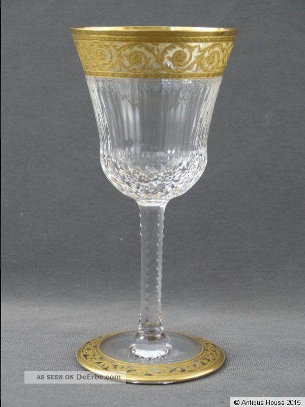 Saint Louis Thistle Glas Apperitif Dessertwein 13 Cm Kristall Bild