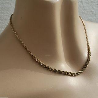 Art Deco Kordelkette Collier Halskette 42cm Am Douple Gold Im Verlauf Gefertigt Bild