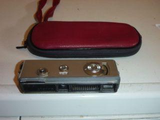 Yashica Atoron Ultra Miniature Camera,  Spy Camera,  Pocket Camera,  Case Bild