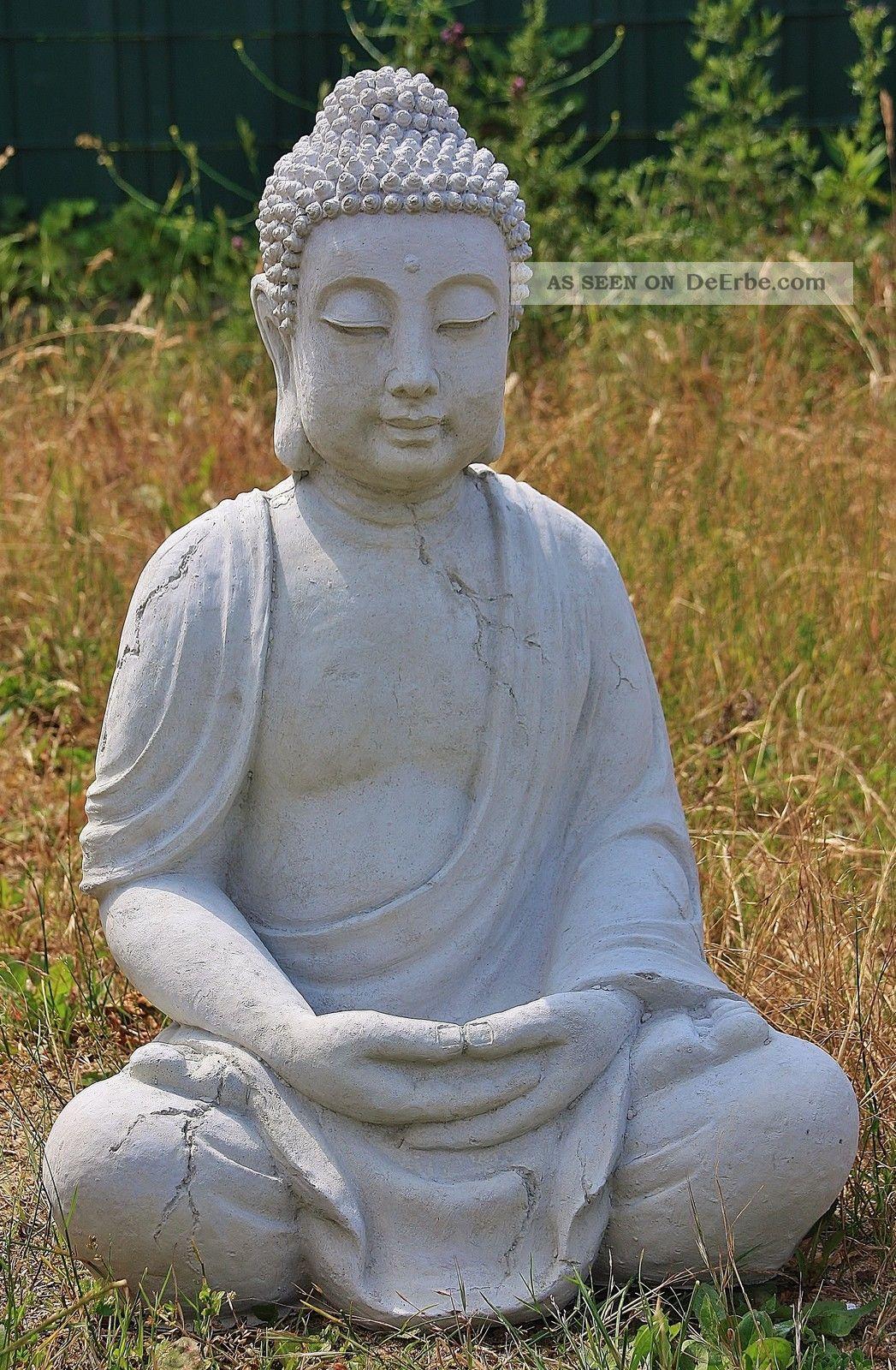 Buddha HÄnde Hoch Buddhas Aus Steinguss Garten & Teich Frostfest Ja - Buddha Nostalgie- & Neuware Bild