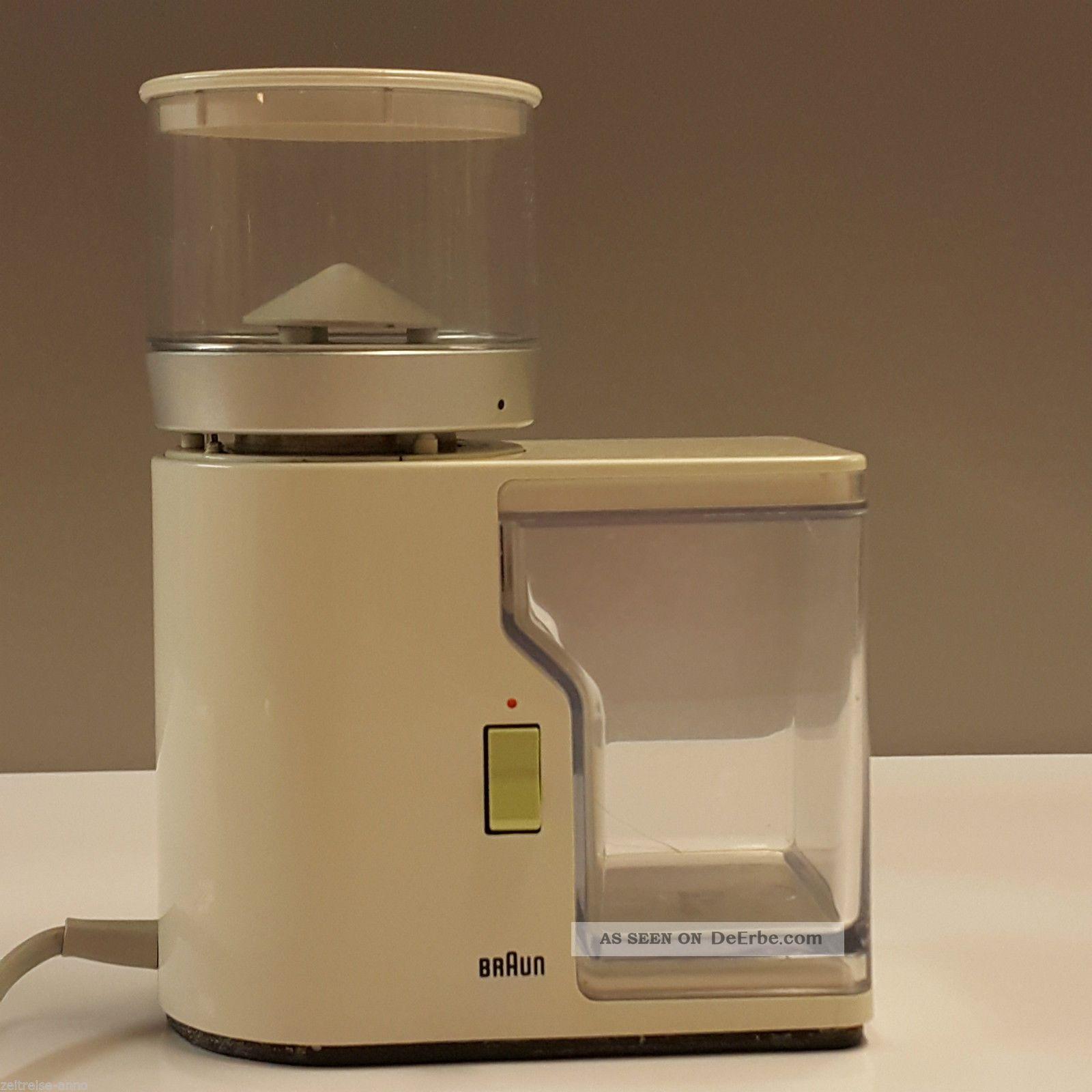 Braun Kmm 1 Kaffeemühle Aromatic Mokkamühle Espressomühle Design 1965 R.  Weiss 1960-1969 Bild