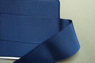 4 Meter Blau Ripsband · Hutband · Polyester · 4cm Breit Bild
