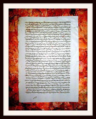 Canon Medicinae,  Avicenna,  Medizin - Handschrift,  Persien,  2 Seiten,  Um 1500 - Rar Bild
