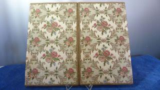 Alte Gobelin Briefpapier Mappe / Schreibtisch Mappe - Wunderschön - Vintage - 1 Bild