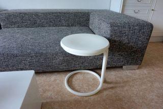 Hocker Beistelltisch Design Stuhl Tisch Tulip Stahlrohr Danish Panton 70er Bild