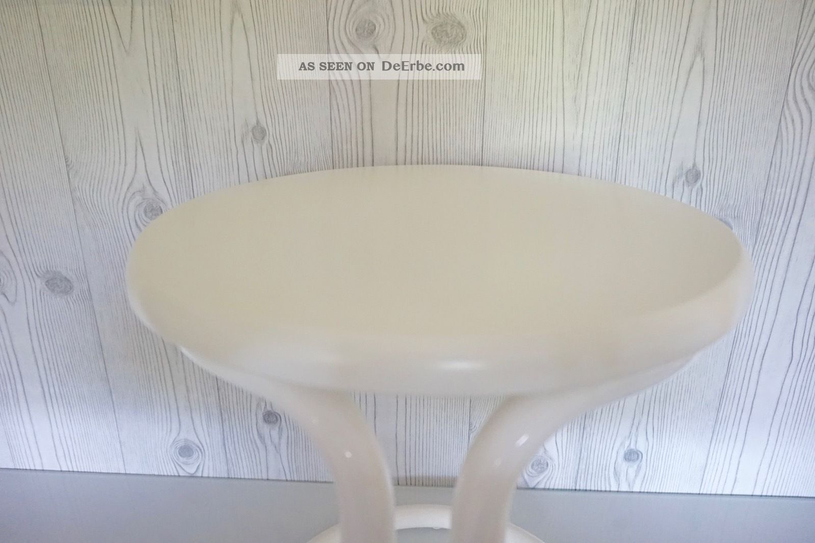 Hocker beistelltisch design stuhl tisch tulip stahlrohr for Design stuhl panton
