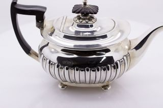 Antik Walker & Hall Teekanne 925 Silber Sheffield England 1897 Teapot Sterling Bild