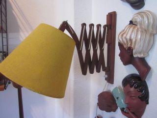 Teak Lampe Scherenlampe Dänemark Era Juhl Jalk Wegner Mid - Century Bild