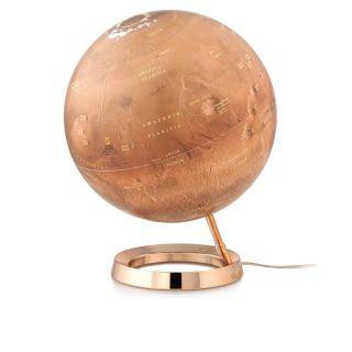 Leuchtglobus Der Rote Planet Mars 30cm Marskugel Globe Globus Mondkugel Astro Bild