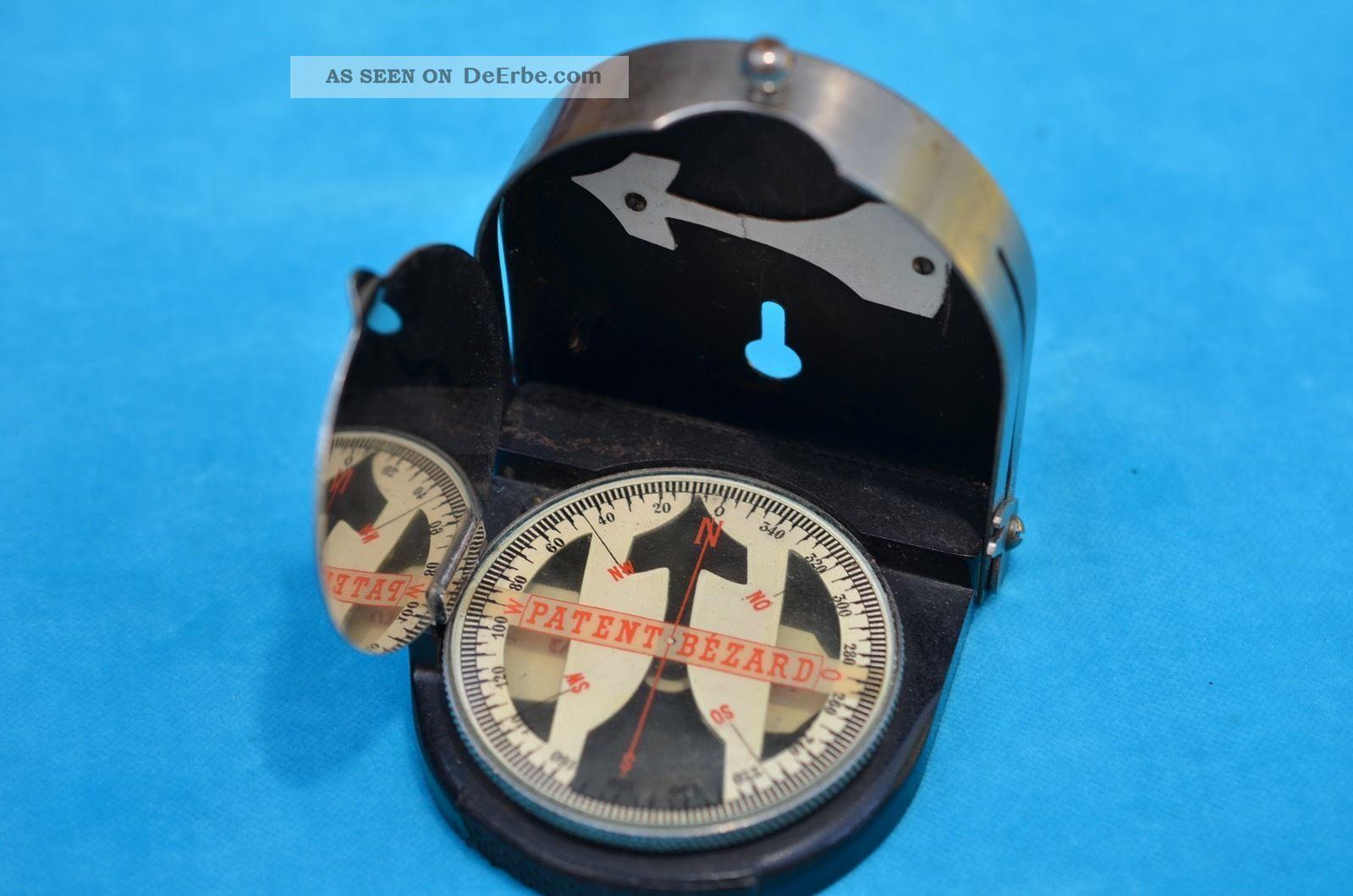 1.  Wk Alter Orig.  Patent Bézard Marschkompass Taschenkompass Armeemodell 1910 Ii Technik & Instrumente Bild