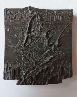 Frank Ruddigkeit: Johann Sebastian Bach - Bronze,  1985 - Nur 50 Ex.  - Ddr - Kunst Bild