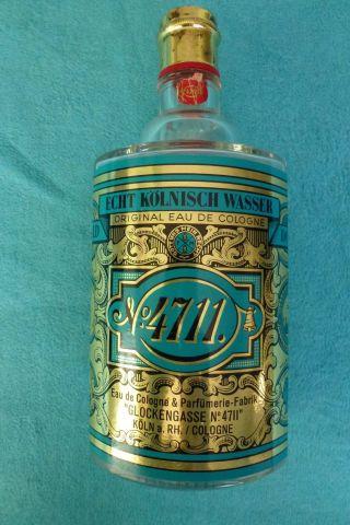 4711 Echt Kölnisch Wasser 800 Ml Leere Flasche Bild