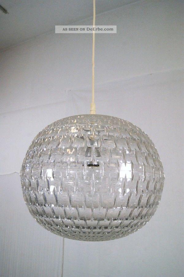 Aloys Gangkofner Ufo Lampe 60s Design Erco Plastik Lamp 1970-1979 Bild
