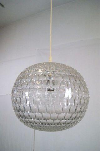 Aloys Gangkofner Ufo Lampe 60s Design Erco Plastik Lamp Bild
