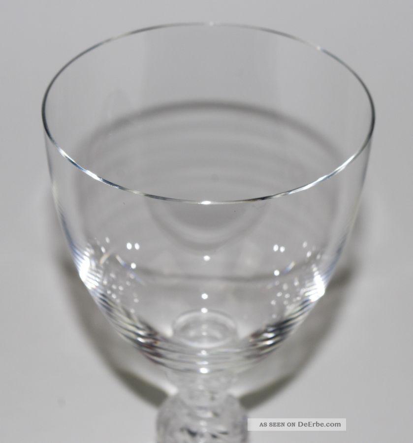Rotweinglas Lalique Saint Hubert Signiert (15,  6 Cm) 1st Choice Top Kristall Bild