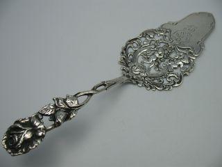 Sehr Schöner Putten Tortenheber Kuchenschaufel Aus 835 Silber Bild