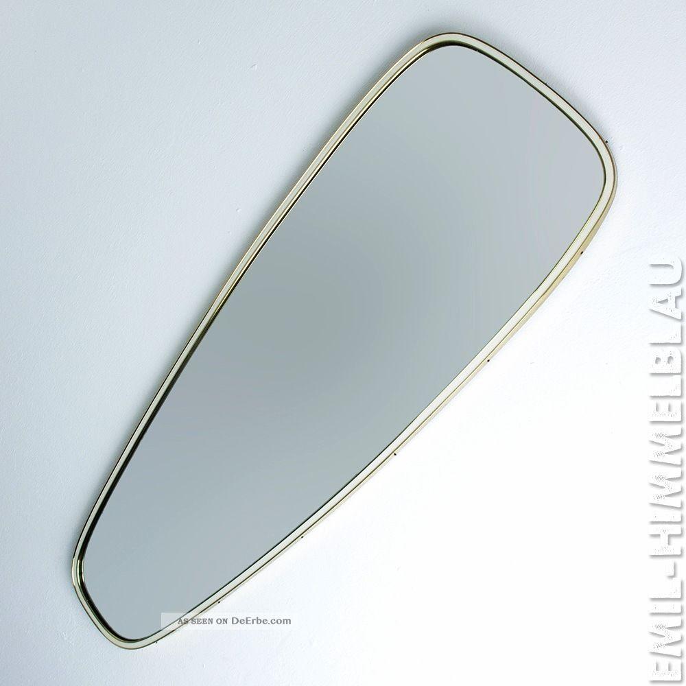 MÜnchner Zierspiegel 559 Wandspiegel Messing Spiegel Vintage Mirror 50er 60er 1950-1959 Bild
