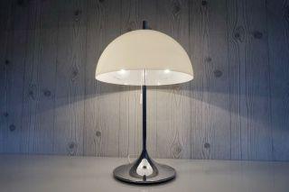 Wila Tulip Lampe Chrom Tulpenfuss Design Panthella - Poulsen - Art 70er Panton Bild