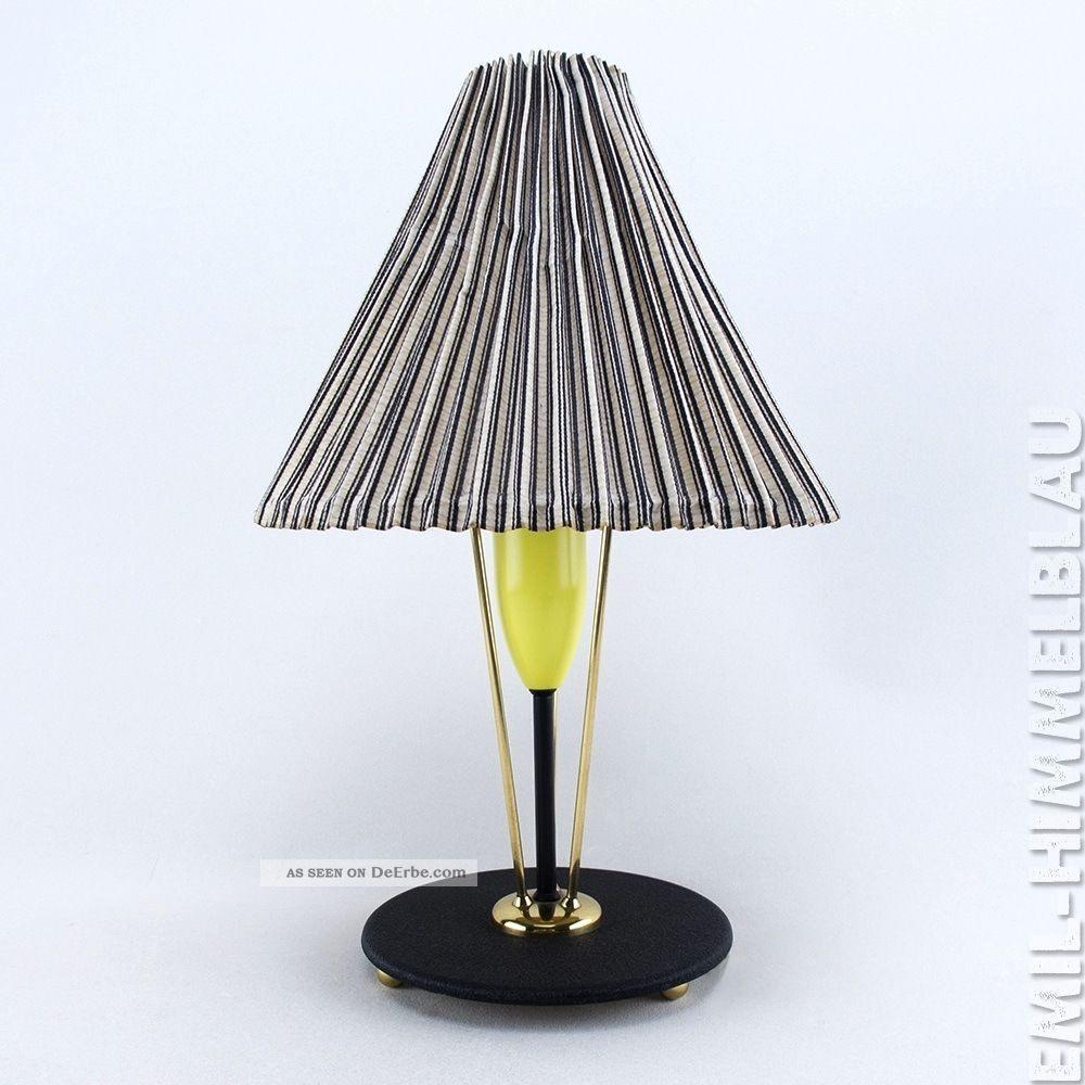 Lampe Tischlampe 50er Vintage Leuchte Mid Century 50s TÜte Rockabilly 1950-1959 Bild