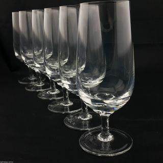 6 Biertulpen Biergläser Pilsglas Vintage Kristall 17,  2cm H.  Zeitlos Modern Edel Bild